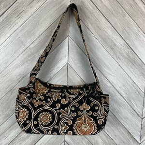 Vera Bradley shoulder bag in retired cafe latte